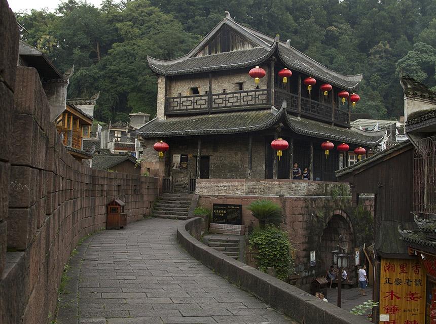 Thị trấn Phù Dung - Điểm đến trong tour Phượng Hoàng Cổ Trấn giá rẻ